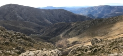 Views from the trail to Arcu Gennargentu