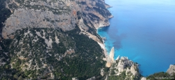 View on the Aguglia from Punta Salinas