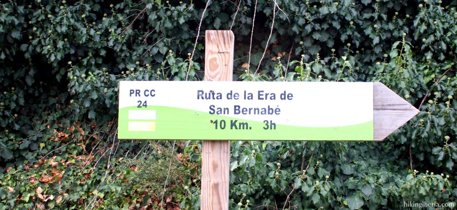 Route 'Era de San Bernabé'