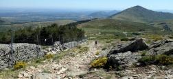 Uitzicht op de Sierra Oeste de Madrid