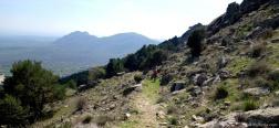 Afdaling naar El Escorial