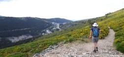 Path to the Puerto de Navacerrada