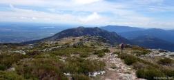 Cerro Peña del Águila über Puerto de La Fuenfría