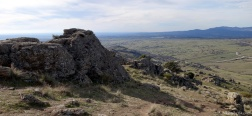 Uitzicht tijdens de klim naar de Cerro de San Pedro