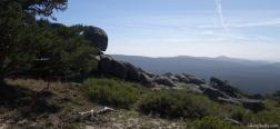 Uitzicht rondom Cueva Valiente