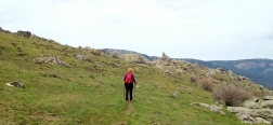 Subida hacia la Machota Alta