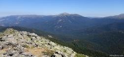 Aussicht vom Montón de Trigo