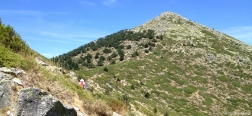 Pad naar de Montón de Trigo