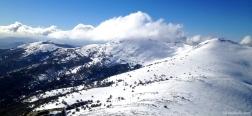 Uitzicht vanaf de Montón de Trigo
