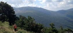 Aufstieg über die Loma de Dos Hermanas