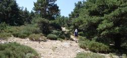 Aufstieg zum Collado de Río Peces