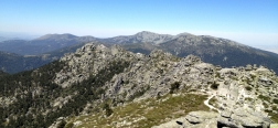 View from the seventh peak van Siete Picos