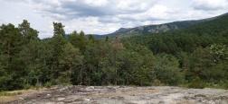 View over the Sierra de Guadarrama