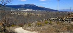 Uitzicht op het klooster van San Lorenzo