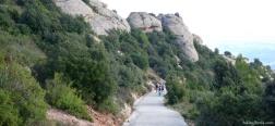 Abstieg von Sant Jeroni