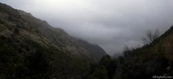 Clouds over the Rio Homem