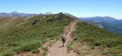 Pad naar de Alto de los Cotorros