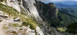 Descent via the Canal del Embudo