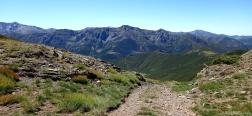 Pass near the Alto de la Cardosa