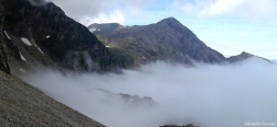 View from the Brecha de Aspe