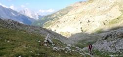 Ascent to the Collado de Petrachifa