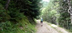 Schotterweg zum Collado de Conflent