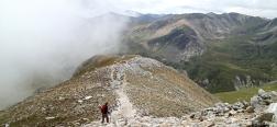 Descent from the Gra de Fajol