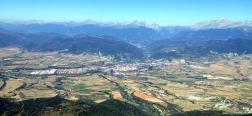 Uitzicht over Jaca