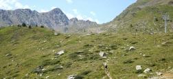 Aufstieg zum Collado Fontnegra
