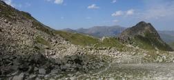 Abstieg vom Pic Negre d'Envalira