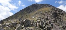 Aufstieg zum Puig Peric