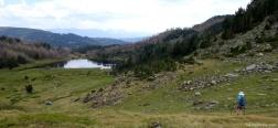 Abstieg zum Estany de la Llosa