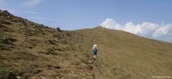 Klim naar de Pico Oturia