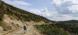 Onverharde weg naar Conciello