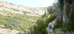 Pad naar de Ermita de San Cornelio