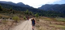 Pad naar de Congost de Mont-Rebei