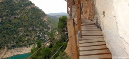 Stairs in the Congost del Seguer
