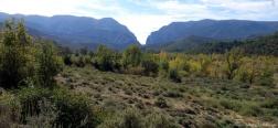 Uitzicht op de Congost de Mont-Rebei