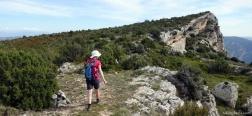Pad naar de Montsec
