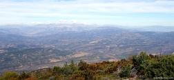 Uitzicht vanaf de Montsec