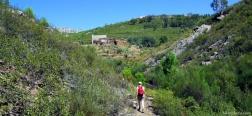 Voorbij het dorp Jola