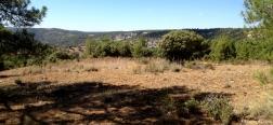 Bovenaan de kloof van de Arroyo del Peral