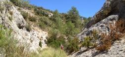 Schlucht des Arroyo del Peral