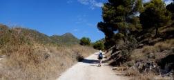 Pad op de Barranco de la Coladilla