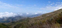 Uitzicht op de Sierra de Almijara