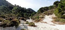 Uitzicht vanaf de Puerto Blanquillo
