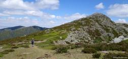 Ascent to the Alto del Parrejón