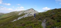 Pad richting de Buitrera