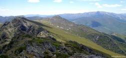 Uitzicht vanaf de Buitrera