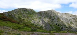 Uitzicht vanaf de Cuerda de las Berceras